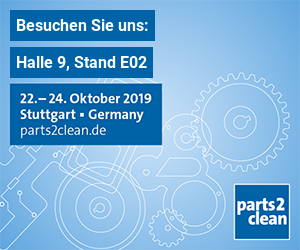 Parts2Clean Messe 2019 - Halle 9, Stand E02